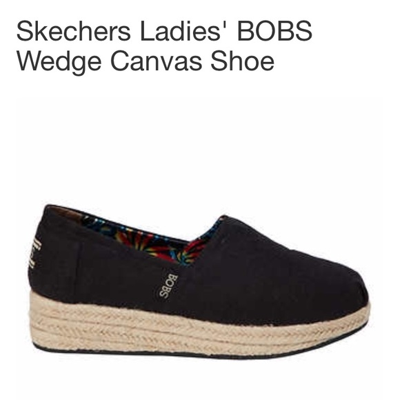 b5256b98f28 Bob Black Wedge Canvas